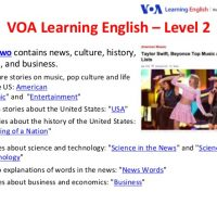 Phần mềm VOA Learning English