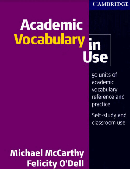 Cuốn sách học từ vựng IELTS - Academic vocabulary for IELTS