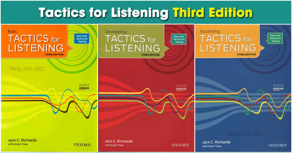 "Bộ sách ""Tactics For Listening"""